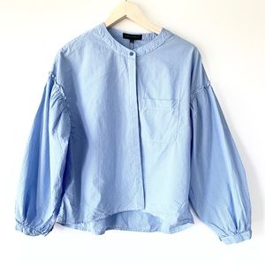 Sanctuary Puff Sleeve Button Down